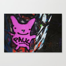 graffi in central London Canvas Print