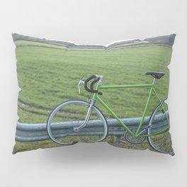 Bike on a Field Pillow Sham
