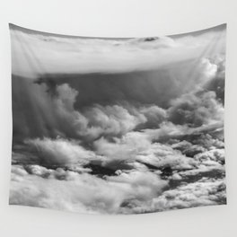 Wave of Clouds Wall Tapestry