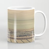 boardwalk empire Mugs featuring Boardwalk by Marc Daly