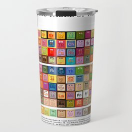 The Periodic Table of the Muppets Travel Mug