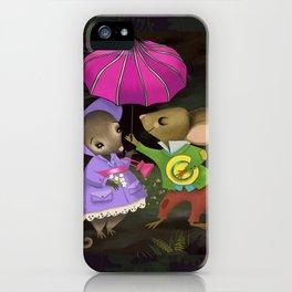 The Little Gentleman iPhone Case