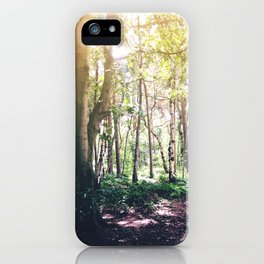 Dappled Forest iPhone Case