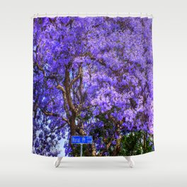 Springtime In Southern California Shower Curtain