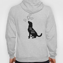 This Girl Loves Dogs - Pets - Animal Lover Hoody