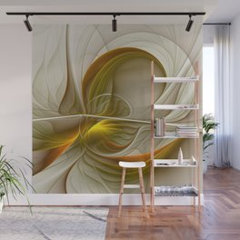 Abstract With Colors Of Precious Metals 2 Wall Mural