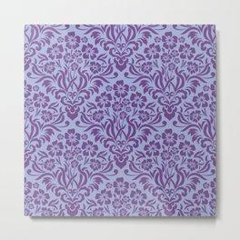 Damask Pattern 8 Metal Print