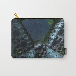 Fractalized Void Carry-All Pouch