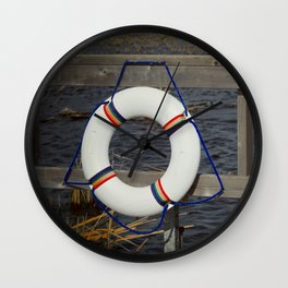 Lifesaver Wall Clock