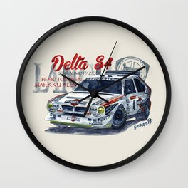 Legend of GROUP B: Lancia Delta S4 Wall Clock