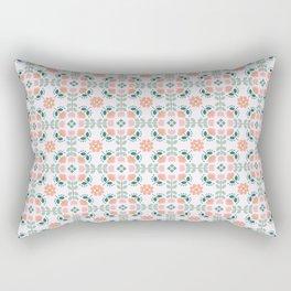 Spring floral tiles Rectangular Pillow