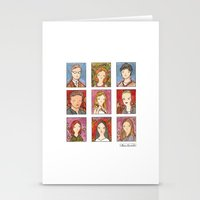 buffy the vampire slayer Stationery Cards featuring Buffy by Steven Learmonth