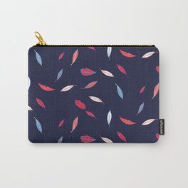 Lips & Leaves Carry-All Pouch