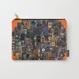ORANGE WOOFERS AND TWEETERS! Carry-All Pouch