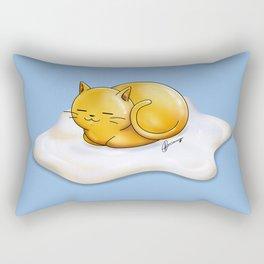 Sunny-side Up Cat Rectangular Pillow