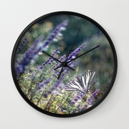 Russian Sage Wall Clock