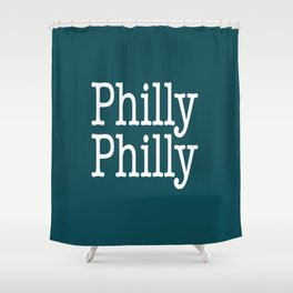 Philly Philly Shower Curtain