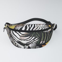 ZEBRA:  GO YOUR OWN WAY Fanny Pack