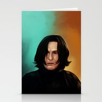 snape Stationery Cards featuring Severus Snape by Elsa D