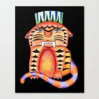 garfield Canvas Prints featuring Garfield by Adrienne S. Price