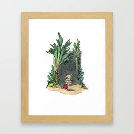 Carry Switcheroo Framed Art Print