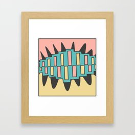 zip it Framed Art Print
