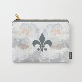 Floral And Structure Carry-All Pouch