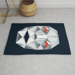 Star Fox Andross Lylat Lowpoly Laugher Rug