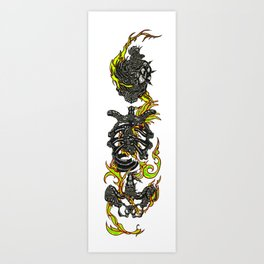 Melange Art Print