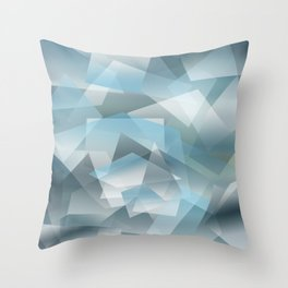 Abstract 208 Throw Pillow