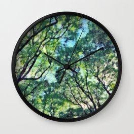 Green noise Wall Clock