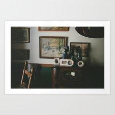 Grandma's House II Art Print