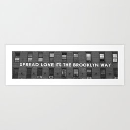 Love Building Art Print