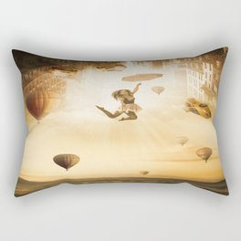New York City Rectangular Pillow