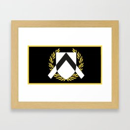 Udinese Calcio Framed Art Print