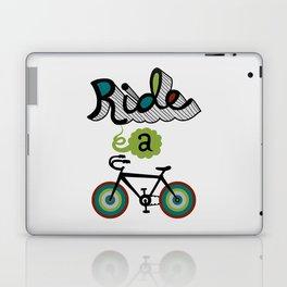 Ride a Bike 3  Laptop & iPad Skin