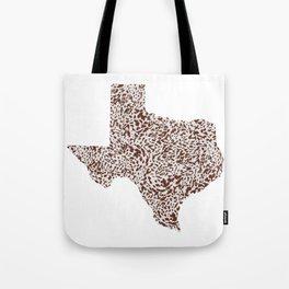 Texas Appaloosa Hide Tote Bag