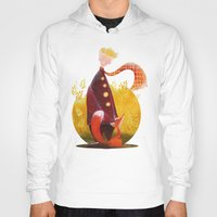 le petit prince Hoodies featuring Le Petit Prince by Federica Fabbian
