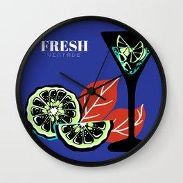Fresh Vintage Wall Clock