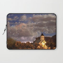 Chapel Among the Clouds Laptop Sleeve