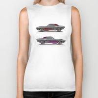 muscle Biker Tanks featuring muscle by ErsanYagiz