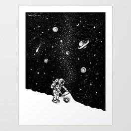 Cosmic Dust Art Print