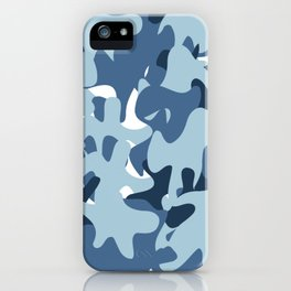 Camouflage Arctic style iPhone Case