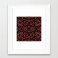 gothic Framed Art Prints featuring GOTHIC by 2sweet4words Designs