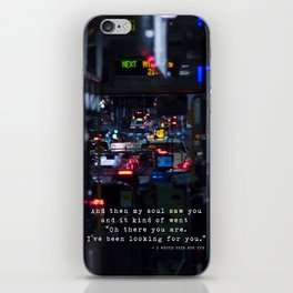 The Point Of Contact iPhone Skin