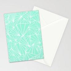 Ab Fan Mint Stationery Cards