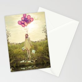 """""""Duck Duck Noose"""" from the Bittersweet series by Kelly Is Nice Photography Stationery Cards"""