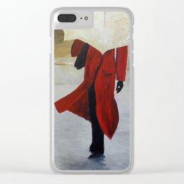 Reggie Clear iPhone Case