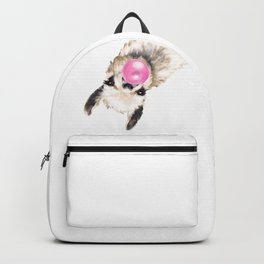 Bubble Gum Sneaky Llama Backpack