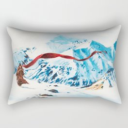 The Wanderer Rectangular Pillow